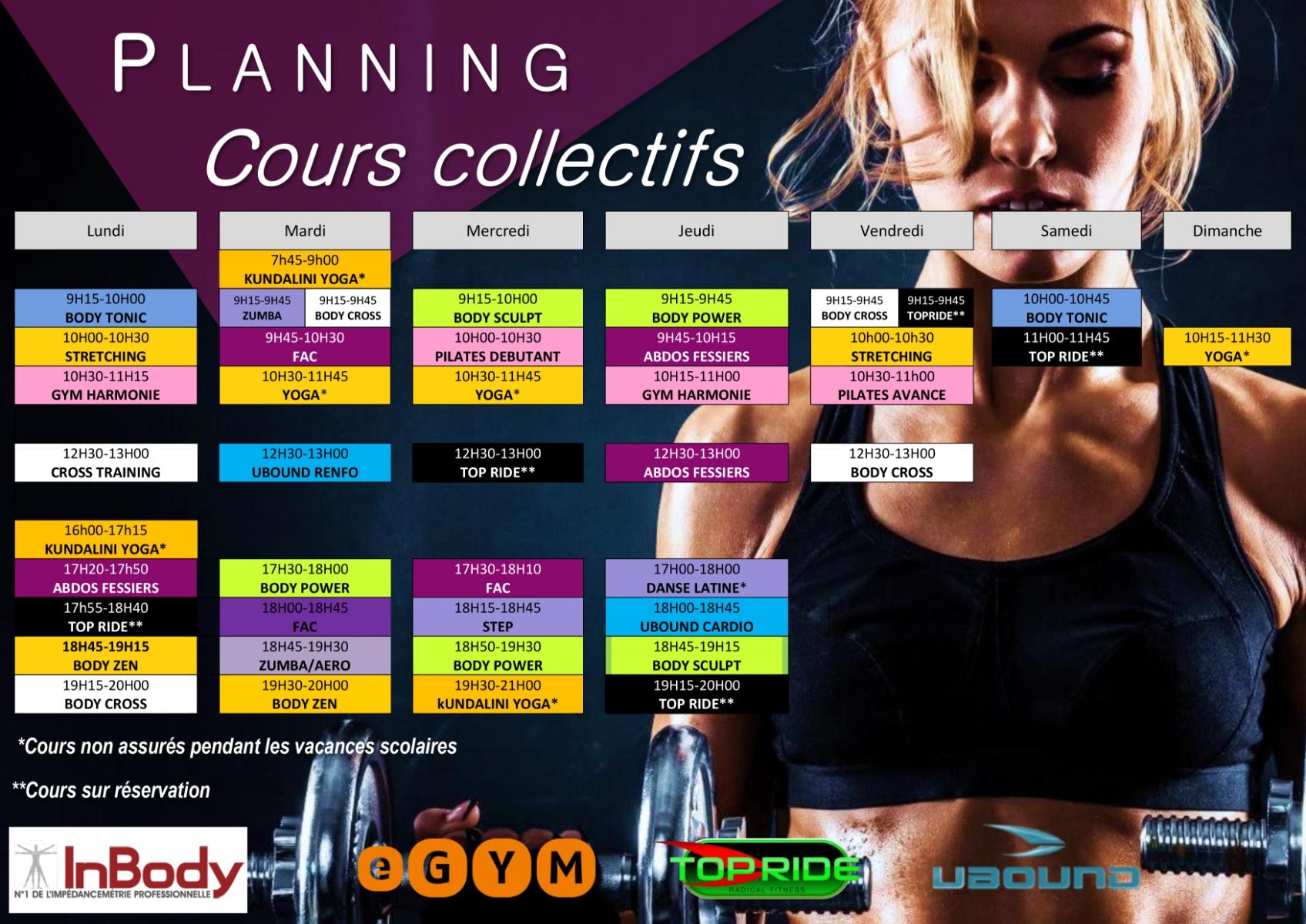 ACROPOLE Salle De Sport Laval Planning été2020 132